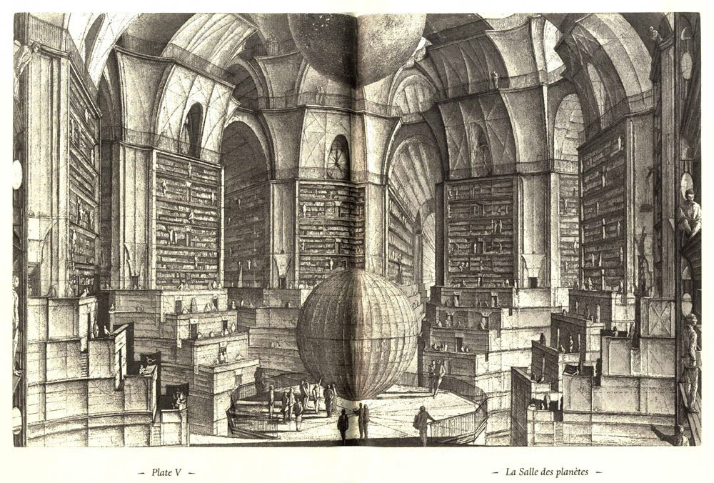 The Library of Babel - Érik Desmazières